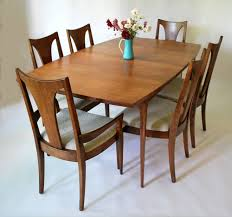 Broyhill Dining Chairs Broyhill Brasilia Dining Set With New Knoll Upholstery Sold