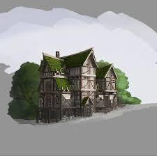 home fantasy design inc architecture sketch background concept concept art diablo 3 fan