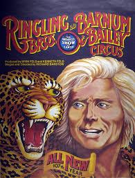 Barnes And Bailey Circus Ringling Bros And Barnum And Bailey Circus Cheetah And Tamer