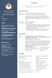 Engineering Resume Samples For Experienced by Mechanical Engineer Resume Samples Visualcv Resume Samples Database