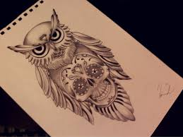 old owl by eirikiss on deviantart tattoos tattoos tattoos