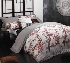 Cherry Duvet Cover Sakura Red Quilt Cover Set By Logan U0026 Mason Planet Linen