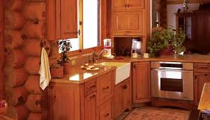 stunning rustic cabin kitchen cabinets luxury log homesfor house