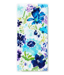 fiesta garden cool floral kitchen towel dillards