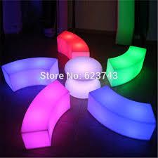 snake led light bar modern art deco plastic waterproof rechargeable arc shaped snake led