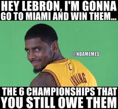 Kyrie Irving Memes - 25 best memes of kyrie irving leaving leaving lebron james