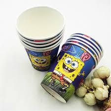 spongebob d u0026 39 anniversaire fournitures achetez des lots à petit
