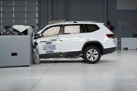 white volkswagen atlas new volkswagen atlas earns iihs top safety pick