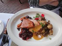thanksgiving dinner picture of bar grill san diego
