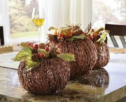 Autumn Tree Decorations Autumn Landscapes To Decorate The Table 50 Ideas Home Dezign