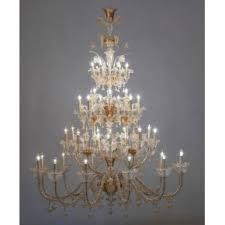 1950s Chandelier Italian Venetian Murano Glass Chandelier Vintage Antique Vintage