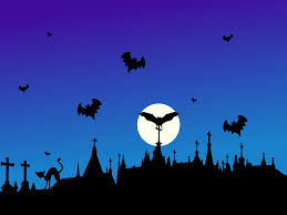 halloween background with silhouettes of children trick or treating in halloween costume halloween events for oakville kids 2016 oakville kids guide