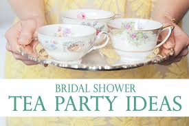 tea party bridal shower ideas bridal shower tea party ideas pretty inspiration from