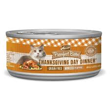 merrick purrfect bistro grain free thanksgiving day dinner canned