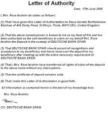 letter of authority for steve horatio bartholemew belshaw jpg