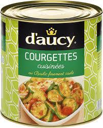 courgettes cuisin s courgettes cuisinées au basilic finement ciselé d aucy foodservice