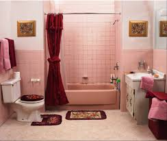 Bathroom Redecorating Ideas Glamorous 20 Pink And Blue Tile Bathroom Decorating Idea