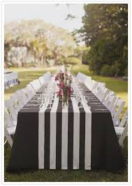 black and white table runners cheap prepossessing black and white striped table runner view on patio
