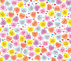 candy hearts aloha candy hearts fabric alohababy spoonflower