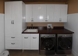 Laundry Room Cabinet With Sink Laundry Room Sink Cabinet Interior Design Styles
