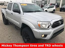 toyota tacoma silver toyota tacoma access cab v6 in michigan for sale used cars on