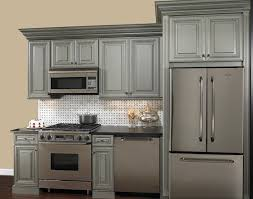 White Kitchen Cabinets With Glaze by Grey Glazed Cabinets For The Home Pinterest Gray Cabinets