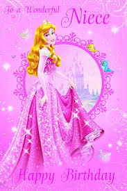 happy birthday nieces disney princess niece birthday card amazon co uk toys u0026 games