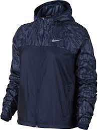 nike women s shield flash printed full zip running jacket dick s