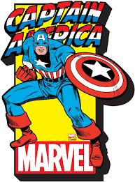 Captain America Decor Captain America Logo Magnet