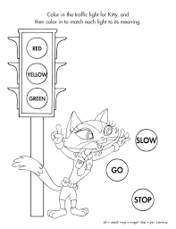 Adult Stop Light Coloring Page Printable Stop Light Coloring Page Light Coloring Page
