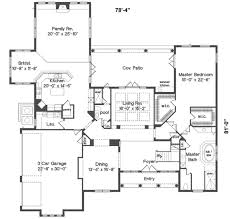 mediterranean style house plan 4 beds 4 baths 4659 sq ft plan