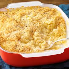 baked three cheese macaroni recipe taste of home