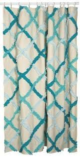 Shower Curtain Teal Teal Shower Curtain Foter