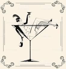 retro martini clip art vintage drinking in the glass stock vector art 496446553 istock