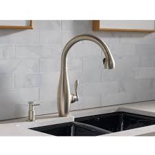 kitchen sinks and faucets kohler faucet k 692 vs clairette vibrant stainless steel pullout