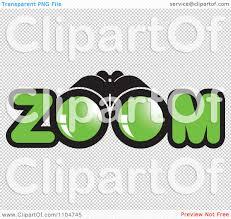 safari binoculars clipart clipart binoculars and zoom text royalty free vector