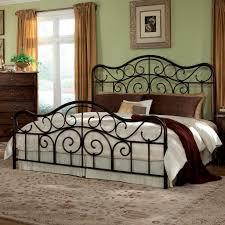 enchanting king metal bed frame headboard footboard and bedroom