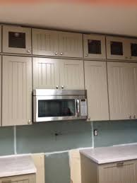Used Kitchen Cabinets Atlanta by Weathered Pieces Kitchen Remodel With Martha Stewart Cabinets