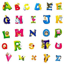 a z alphabet u0026 animals removable 3d letters wall glass stickers