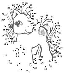 my little pony dot to dot love the idea of doing this as a