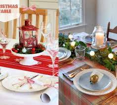 simple christmas table settings cheerful and simply décor christmas table setting ideas trendy