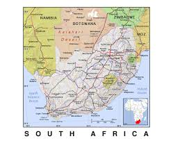 Political Map Africa by Maps Of South Africa Detailed Map Of Republic Of South Africa In