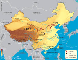 Blank China Map by Schematic Map Of The Yellow River Huang He Flow Path 01a Yellow