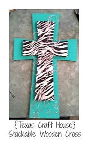 wooden craft crosses stackable wooden cross great diy craft for your home or gift