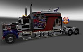 kw w900l for sale kenworth w900 long metallic usa 2 style skin 1 26 4 3s truck skin