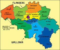 map of belgium geography of belgium