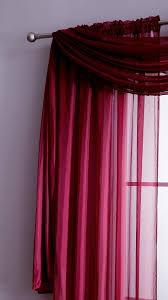 Purple Sheer Curtains Warm Home Designs Plum Window Scarf Valance Sheer Plum Curtains