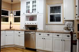 ice white shaker kitchen