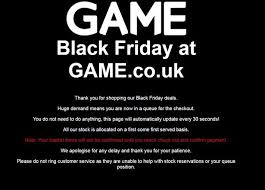 best web black friday deals game pushes best black friday deals but it u0027s all going wrong at