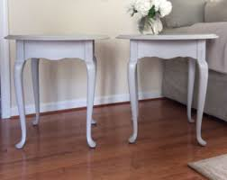 French Country Shabby Chic by French End Table Etsy
